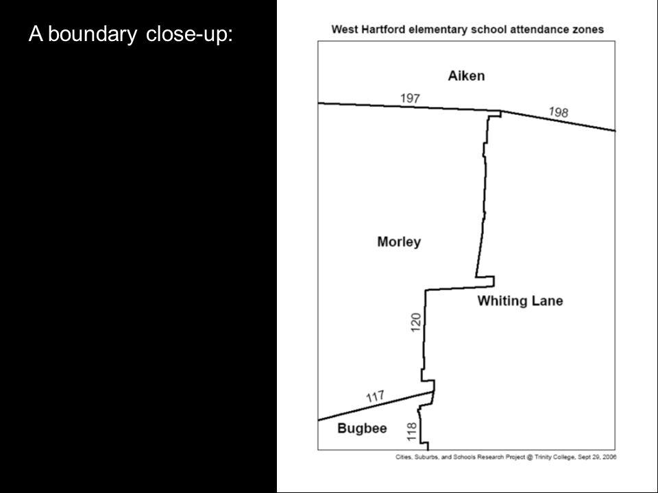 A boundary close-up: