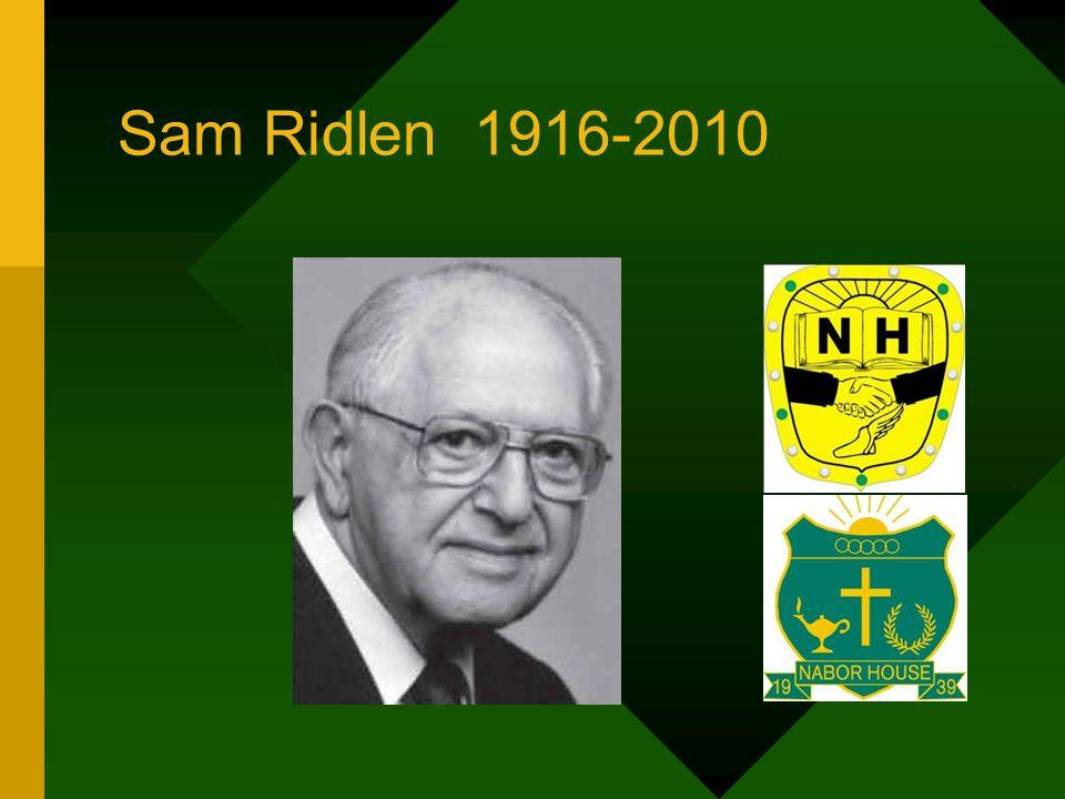 Sam Ridlen 1916-2010
