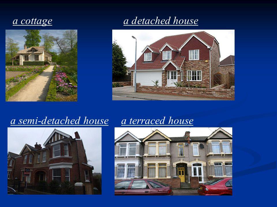 a cottagea detached house a semi-detached housea terraced house