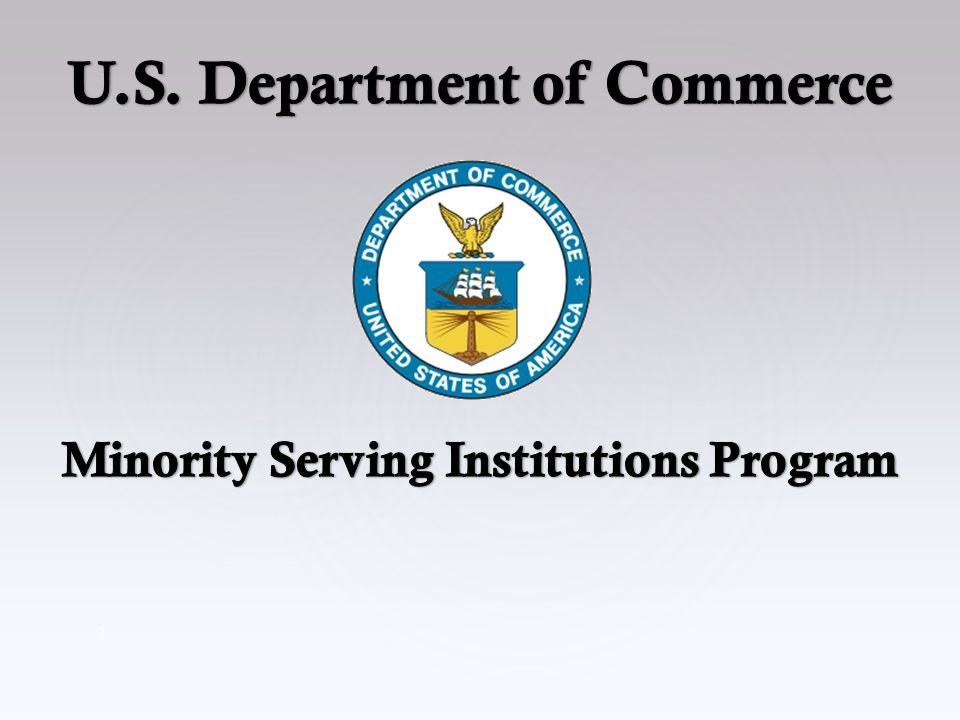 2 Overview Minority Serving Institutions Definitions Executive Orders Initiatives Reporting & Funding High Achievers States & Territories Contact Information