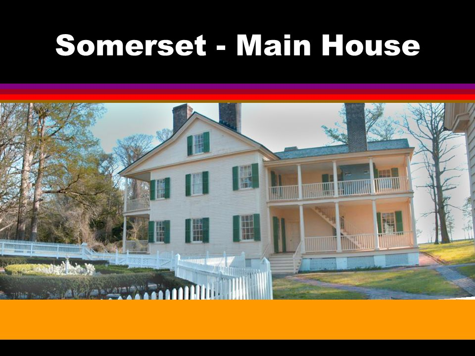 Somerset Plantation 1785 - 1865 l Was one of only four plantations in NC that held over 300 slaves.