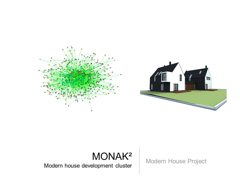 MONAK² Modern house development cluster Modern House Project