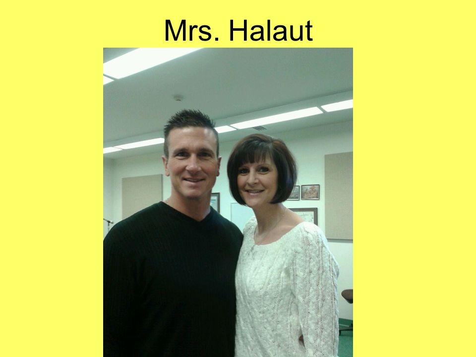 Mrs. Halaut