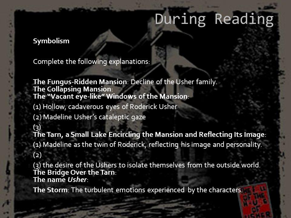 Symbolism – class quotes SymbolSymbolisesQuotations EyesWindows of mansion windows to the soul, sight, to see.