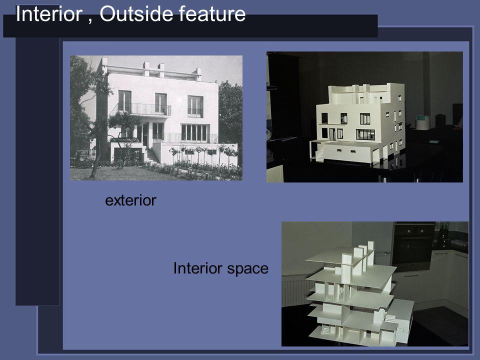 Interior, Outside feature Interior space exterior