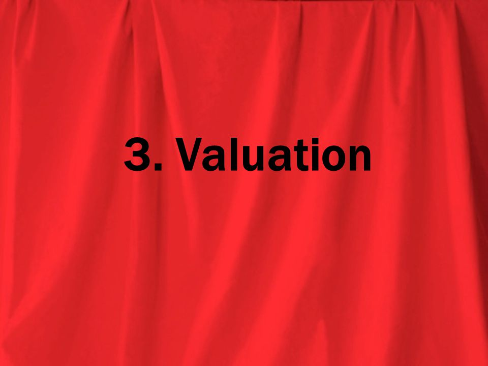 3. Valuation