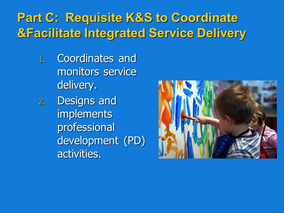 Part B: Requisite K & S Related to Coaching and Information Sharing 1.
