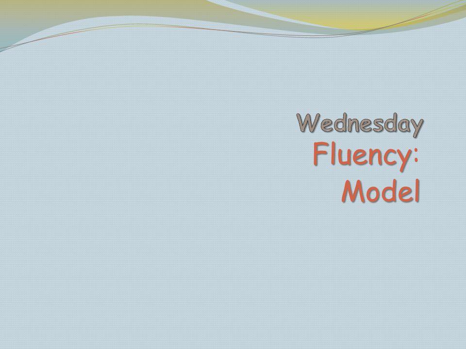 Fluency Fluency:Model