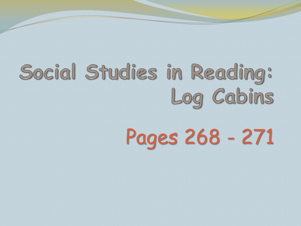 Pages 268 - 271