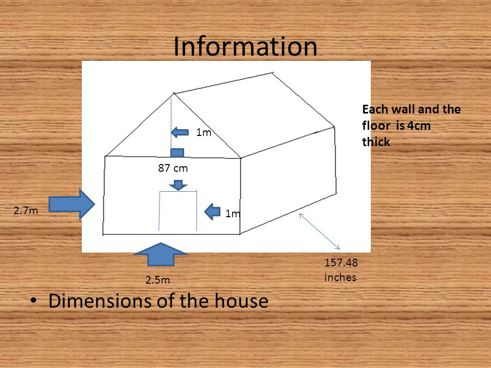 Information Dimensions of one wood block One block is $5 Thickness: 4cm 100 cm 5cm