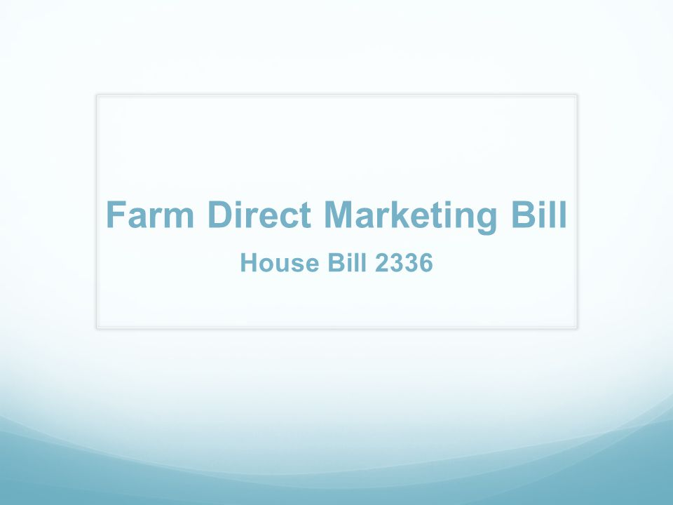 At the Market Farm Direct Marketing Rules allow an agricultural producer to roast the producer s own peppers, nuts and corn-on-the-cob and to pop the producer s own popcorn at farmers markets, if the foods mentioned above are processed after purchase and are not sold for immediate consumption.