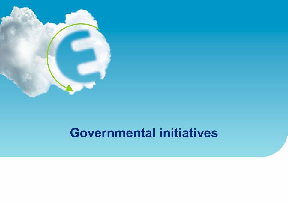 Governmental initiatives