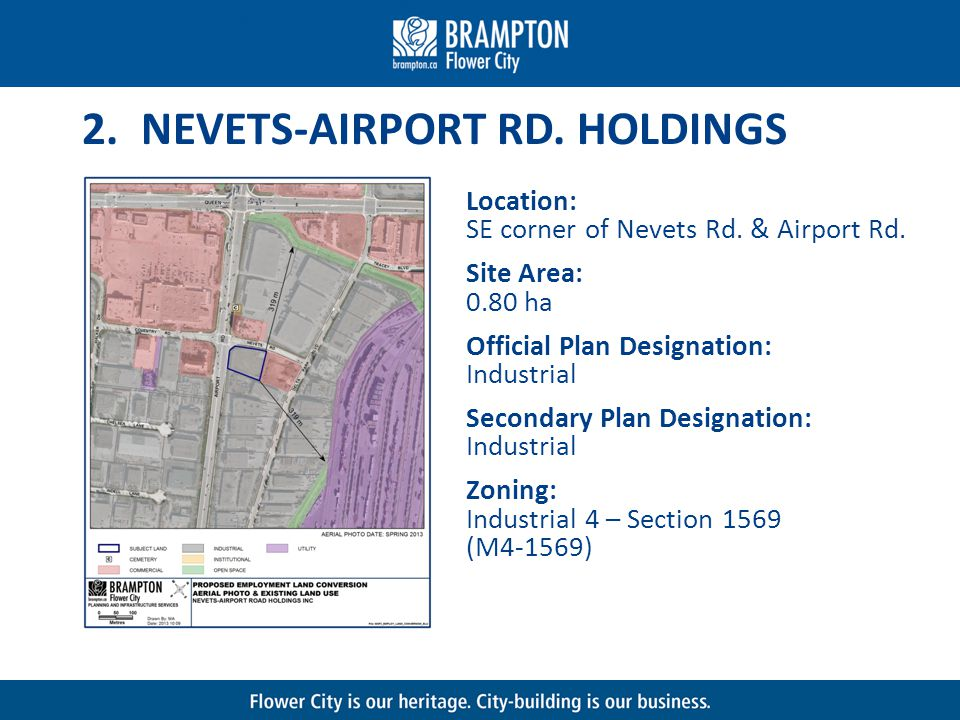 2. NEVETS-AIRPORT RD. HOLDINGS Location: SE corner of Nevets Rd.