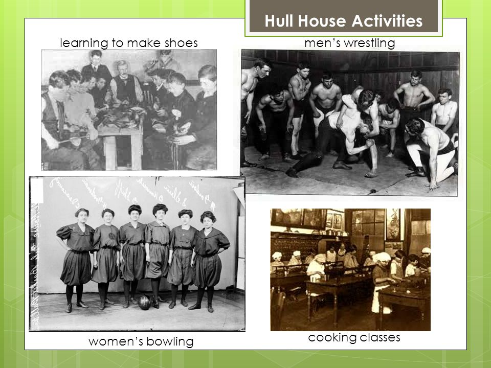 Hull-House exists today as a social service agency, with locations around the city of Chicago.