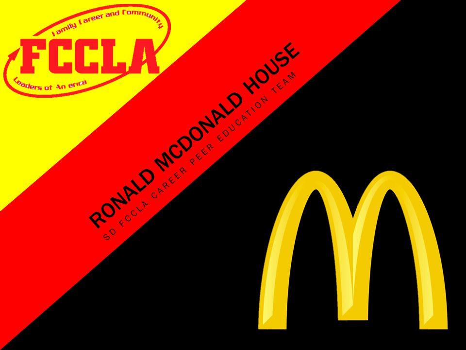 RONALD MCDONALD HOUSE SD FCCLA CAREER PEER EDUCATION TEAM