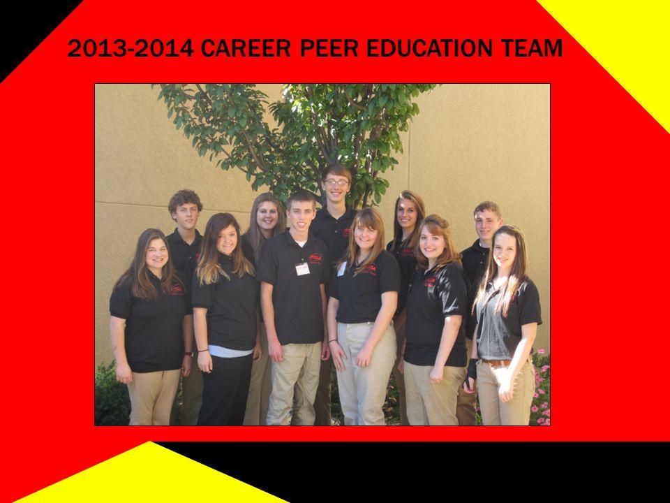 2013-2014 CAREER PEER EDUCATION TEAM