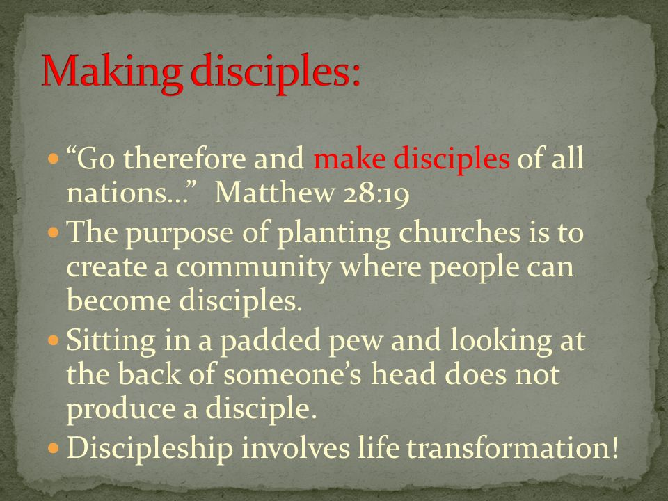 What advantages can you identify to this model of doing church?