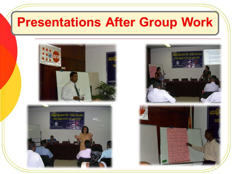 Presentations After Group Work