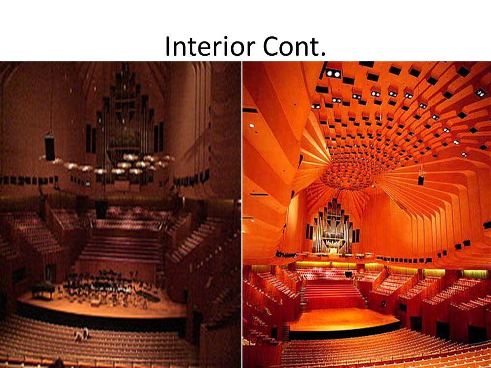 Interior Cont.