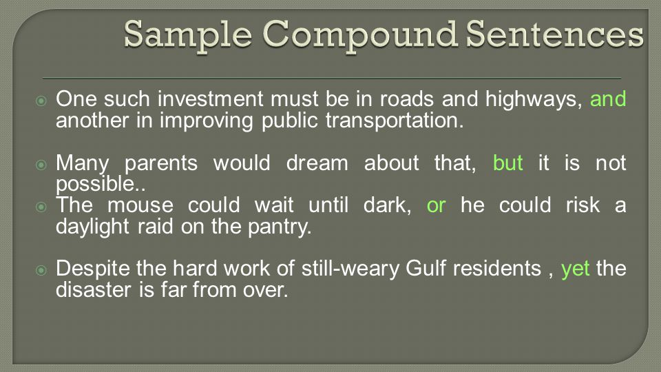 One such investment must be in roads and highways, and another in improving public transportation.