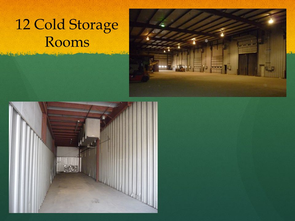 12 Cold Storage Rooms