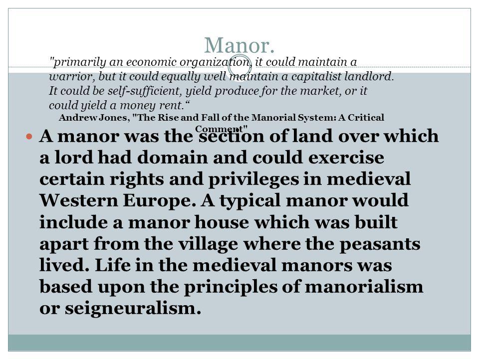 Manor.
