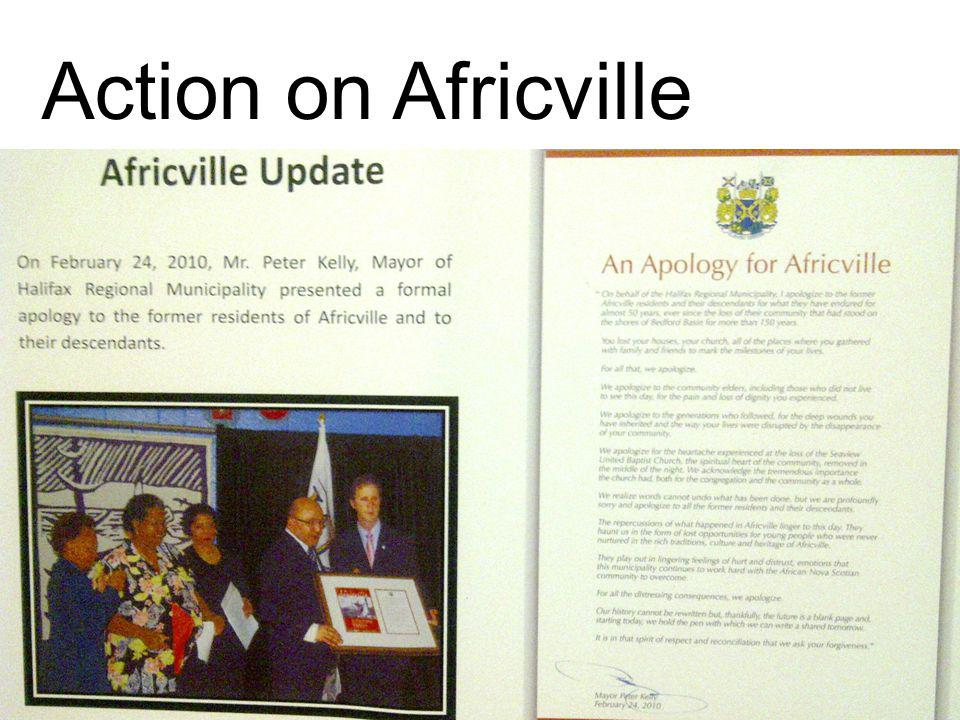 UAA 2013 - San Francisco, CA Action on Africville
