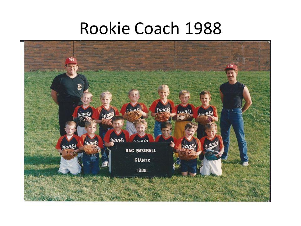 Rookie Coach 1988