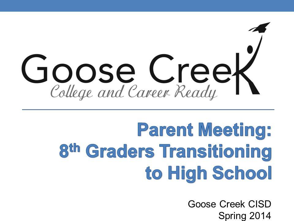 Goose Creek CISD Spring 2014