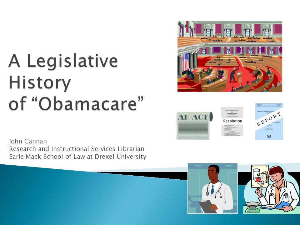 Brief background on passing legislation in U.S.