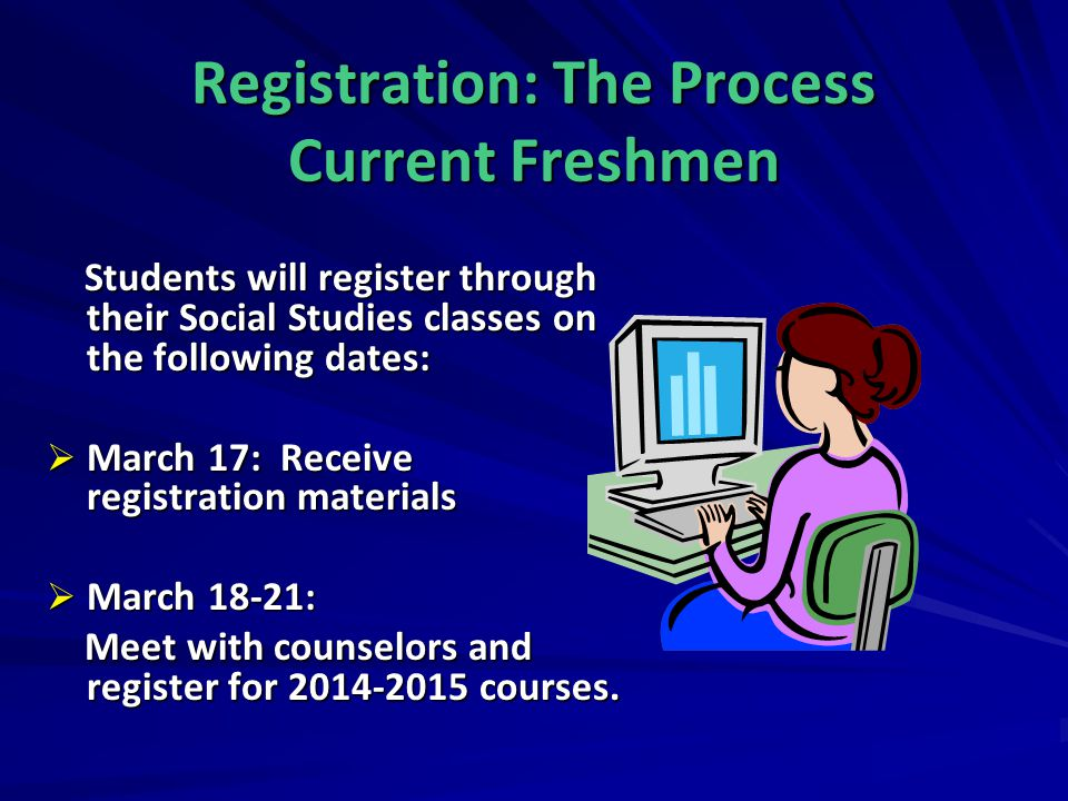 Course Verification In early May, course verifications will be mailed home.