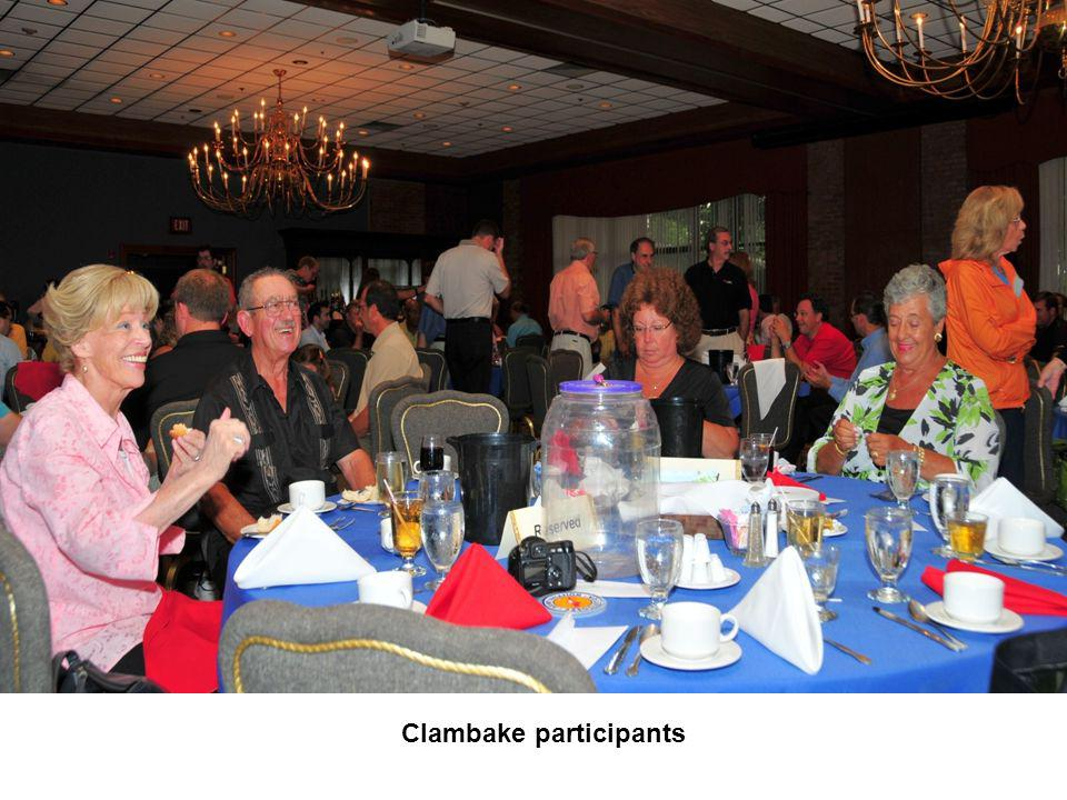 Clambake participants