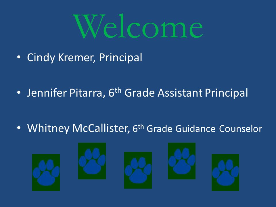We look forward to working with you at LRMS! Go Lions!
