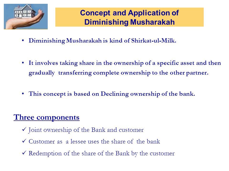 Diminishing Musharakah is kind of Shirkat-ul-Milk.