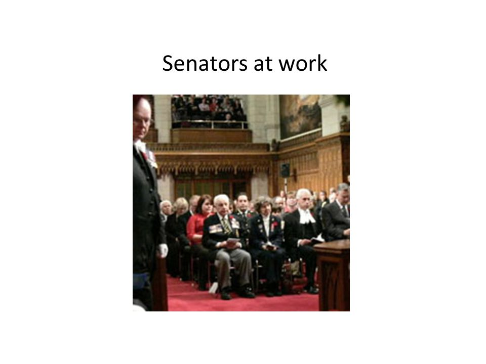 How do Senators get their jobs? Senators are NOT elected. They are appointed by the Governor General after being recommended by the Prime Minister. Se