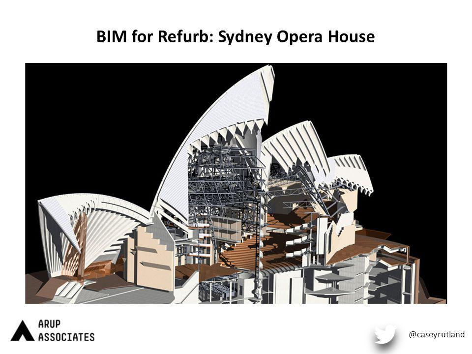 BIM for Refurb: Sydney Opera House @caseyrutland