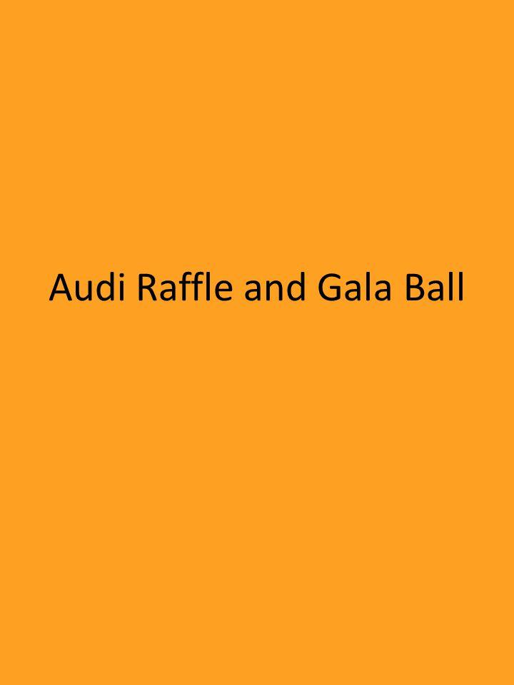 Audi Raffle and Gala Ball