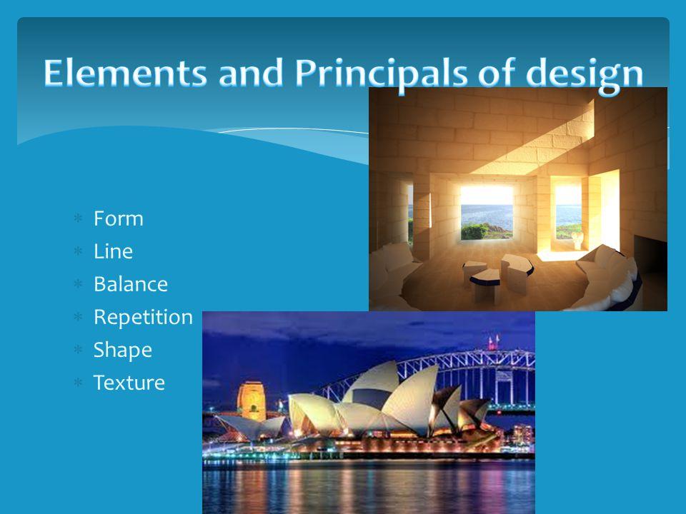 Form Line Balance Repetition Shape Texture