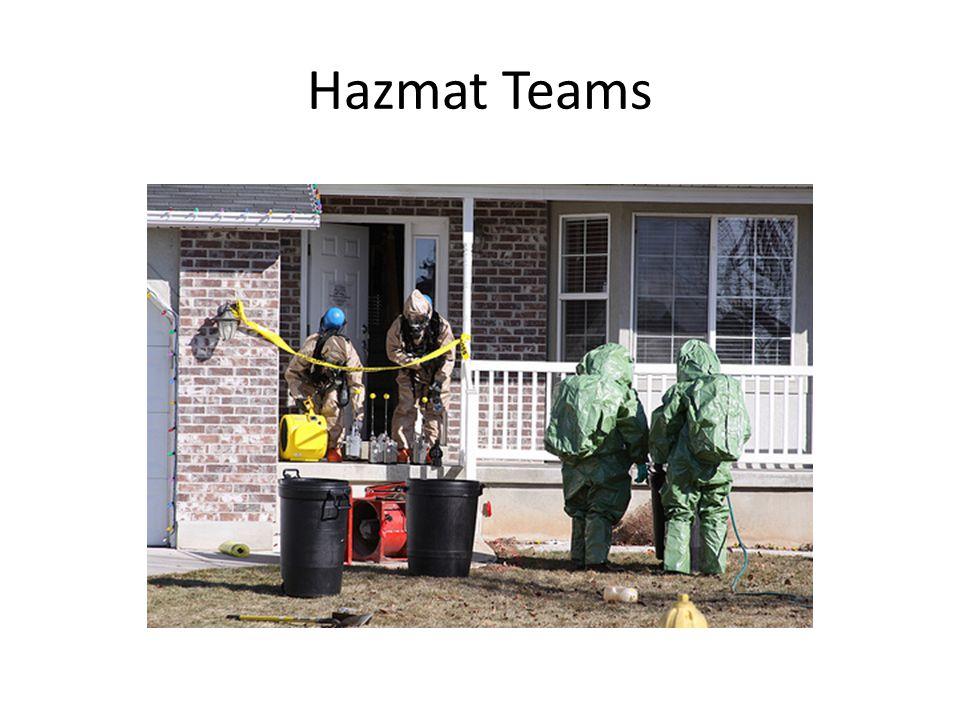 Hazmat Teams