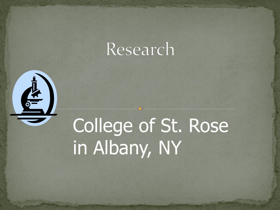 College of St. Rose in Albany, NY