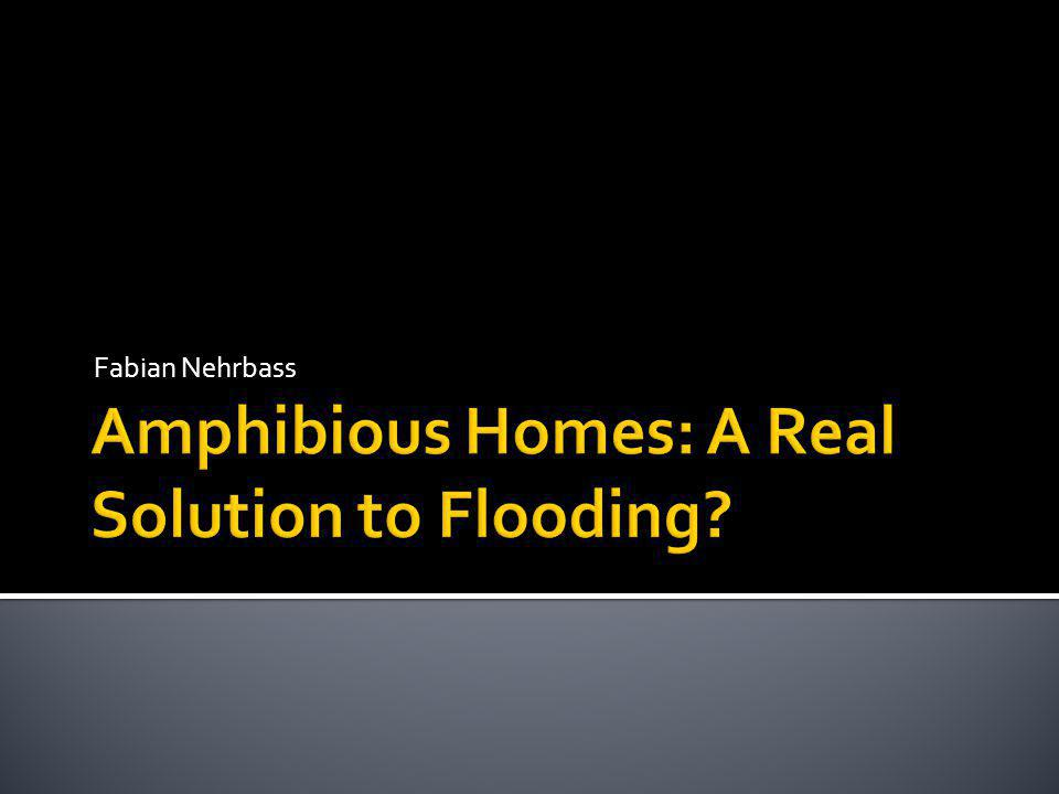 No flood insurance, no success Frequency of storms.