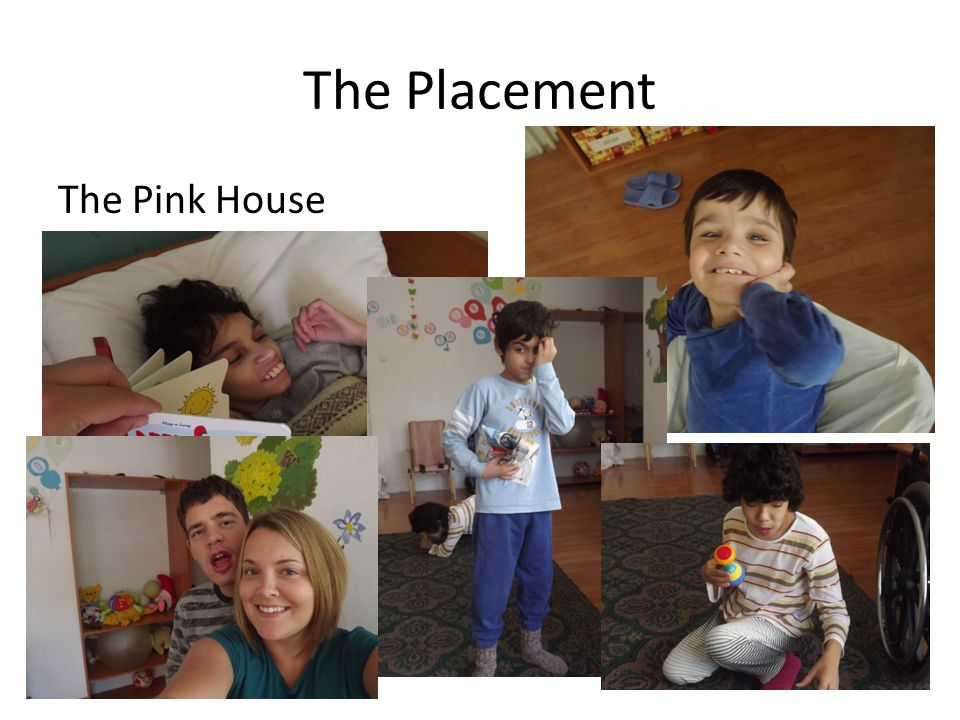 The Ramp House Childrens home – A bus journey away.