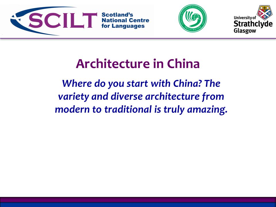Architecture in China Where do you start with China.