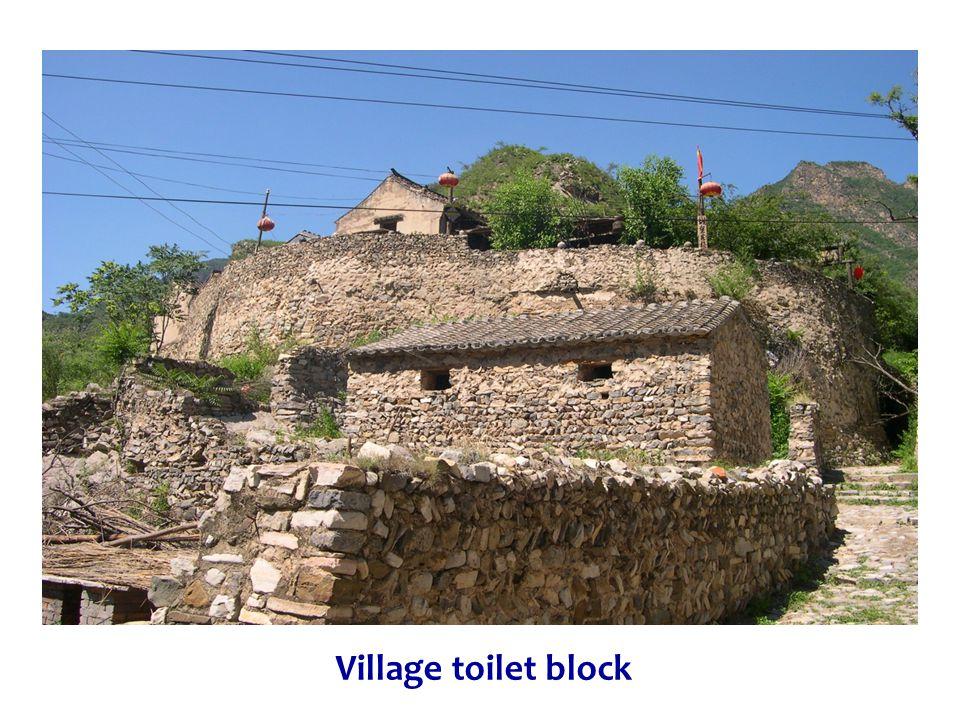 Village toilet block