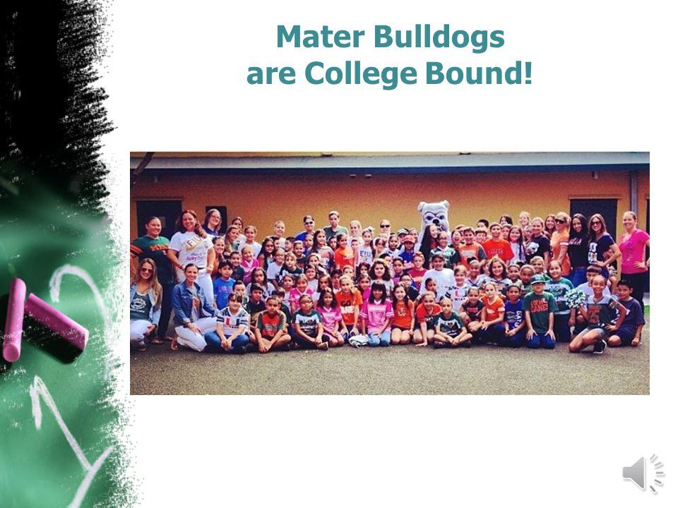 Mater Bulldogs are College Bound!