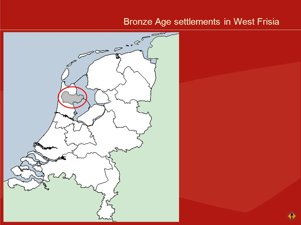 Bronze Age settlements in West Frisia