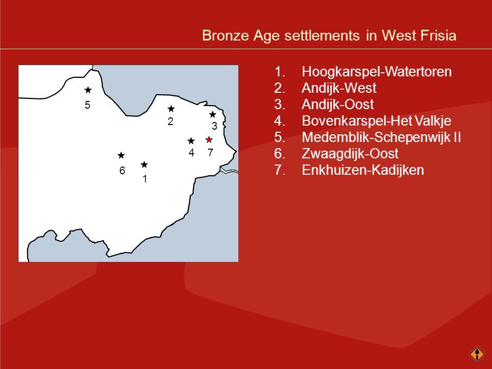1.Hoogkarspel-Watertoren 2.Andijk-West 3.Andijk-Oost 4.Bovenkarspel-Het Valkje 5.Medemblik-Schepenwijk II 6.Zwaagdijk-Oost 7.Enkhuizen-Kadijken 74 1 2 3 6 5