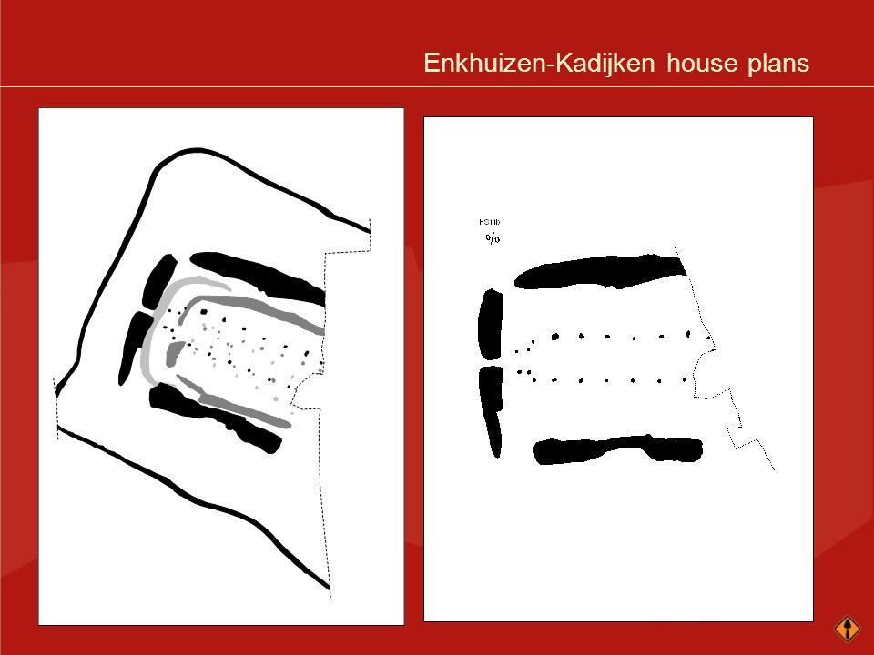Enkhuizen-Kadijken house plans