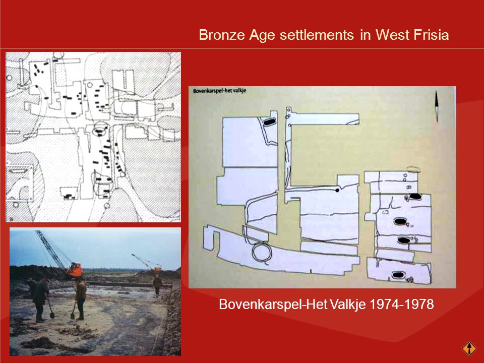 Bronze Age settlements in West Frisia Bovenkarspel-Het Valkje 1974-1978