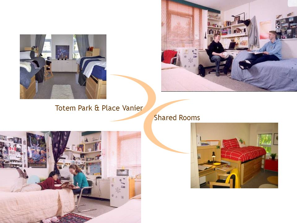 Totem Park & Place Vanier Shared Rooms